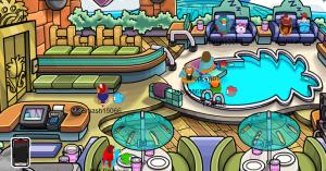 club penguin on mange!!!